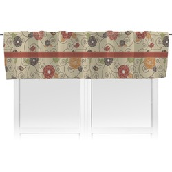 Fall Flowers Valance (Personalized)