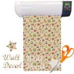 Fall Flowers Vinyl Sheet (Re-position-able)