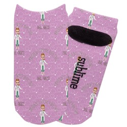 Doctor Avatar Adult Ankle Socks (Personalized)