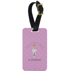 Doctor Avatar Aluminum Luggage Tag (Personalized)