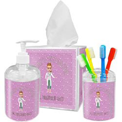 Doctor Avatar Bathroom Accessories Set (Personalized)