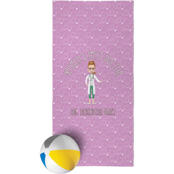 Doctor Avatar Beach Towel (Personalized)