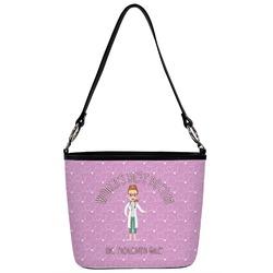Doctor Avatar Bucket Bag w/ Genuine Leather Trim (Personalized)