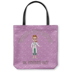 Doctor Avatar Canvas Tote Bag (Personalized)