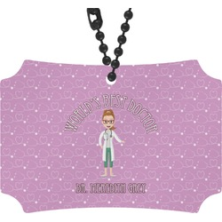 Doctor Avatar Rear View Mirror Ornament (Personalized)
