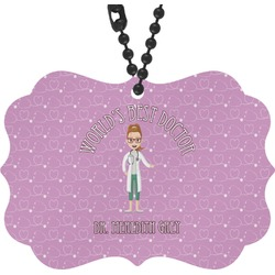 Doctor Avatar Rear View Mirror Charm (Personalized)