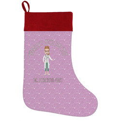 Doctor Avatar Holiday Stocking w/ Name or Text