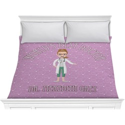 Doctor Avatar Comforter - King (Personalized)