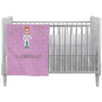 Doctor Avatar Crib Comforter / Quilt (Personalized)