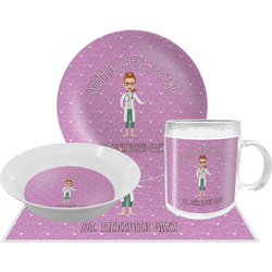 Doctor Avatar Dinner Set - 4 Pc (Personalized)