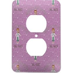 Doctor Avatar Electric Outlet Plate (Personalized)