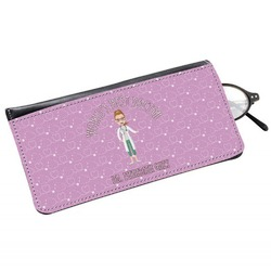 Doctor Avatar Genuine Leather Eyeglass Case (Personalized)