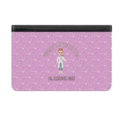 Doctor Avatar Genuine Leather ID & Card Wallet - Slim Style (Personalized)