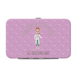 Doctor Avatar Genuine Leather Small Framed Wallet (Personalized)
