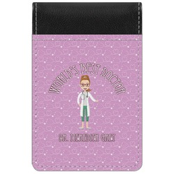 Doctor Avatar Genuine Leather Small Memo Pad (Personalized)