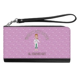 Doctor Avatar Genuine Leather Smartphone Wrist Wallet (Personalized)