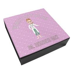 Doctor Avatar Leatherette Keepsake Box - 3 Sizes (Personalized)