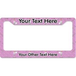 Doctor Avatar License Plate Frame (Personalized)