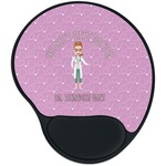 Doctor Avatar Mouse Pad with Wrist Support