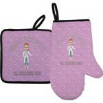 Doctor Avatar Oven Mitt & Pot Holder (Personalized)