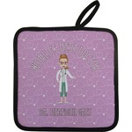 Doctor Avatar Pot Holder w/ Name or Text