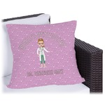 Doctor Avatar Outdoor Pillow (Personalized)