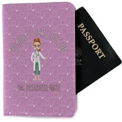 Doctor Avatar Passport Holder - Fabric (Personalized)