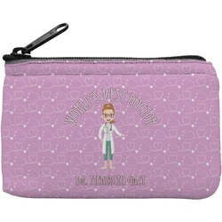 Doctor Avatar Rectangular Coin Purse (Personalized)