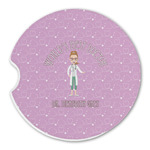 Doctor Avatar Sandstone Car Coasters (Personalized)