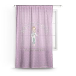 Doctor Avatar Sheer Curtains (Personalized)