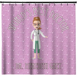 Doctor Avatar Shower Curtain (Personalized)