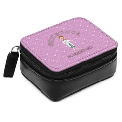 Doctor Avatar Small Leatherette Travel Pill Case (Personalized)