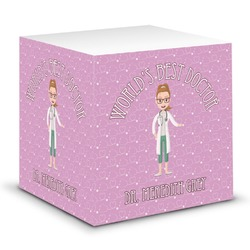 Doctor Avatar Sticky Note Cube (Personalized)