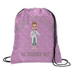 Doctor Avatar Drawstring Backpack (Personalized)