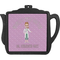 Doctor Avatar Teapot Trivet (Personalized)