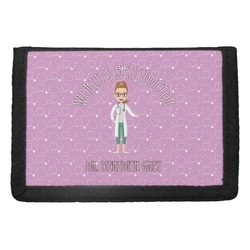 Doctor Avatar Trifold Wallet (Personalized)