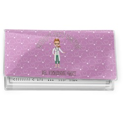 Doctor Avatar Vinyl Checkbook Cover (Personalized)
