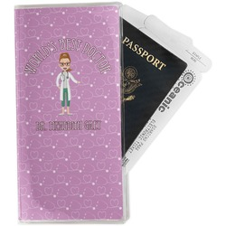 Doctor Avatar Travel Document Holder