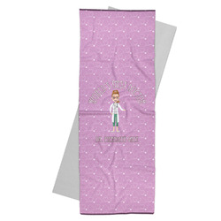 Doctor Avatar Yoga Mat Towel (Personalized)