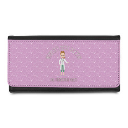 Doctor Avatar Leatherette Ladies Wallet (Personalized)
