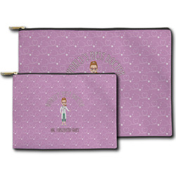 Doctor Avatar Zipper Pouch (Personalized)