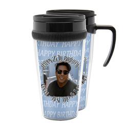 Photo Birthday Acrylic Travel Mugs (Personalized)