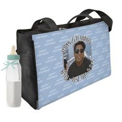 Photo Birthday Diaper Bag (Personalized)