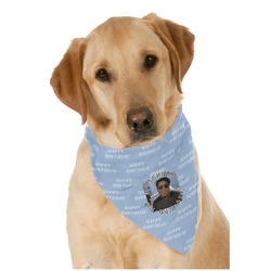 Photo Birthday Pet Bandanas (Personalized)