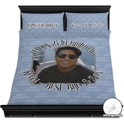 Photo Birthday Duvet Covers (Personalized)