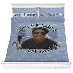 Photo Birthday Comforters (Personalized)