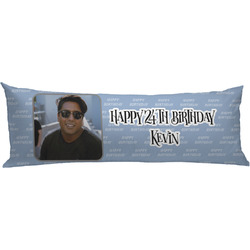 Photo Birthday Body Pillow Case (Personalized)
