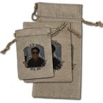Photo Birthday Burlap Gift Bags