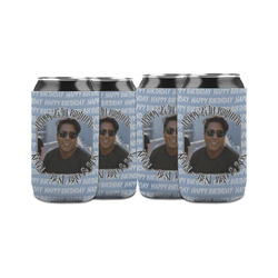 Photo Birthday Can Sleeve (12 oz) (Personalized)