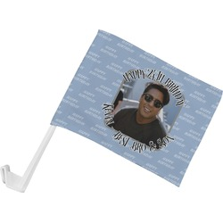 Photo Birthday Car Flag (Personalized)